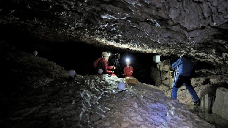 Tournage Onset grotte Prérouge 4