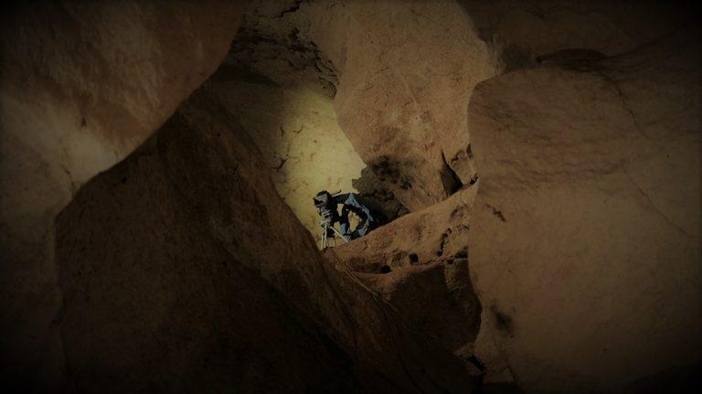 Tournage Onset grotte St Marce d'Ardèche 6