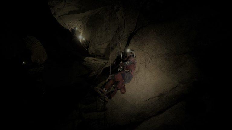 Tournage Onset grotte St Marce d'Ardèche 4