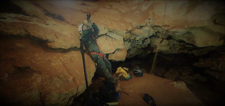 Tournage Onset grotte St Marce d'Ardèche 3