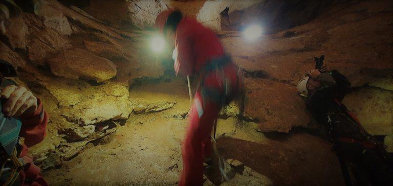 Tournage Onset grotte St Marce d'Ardèche 2